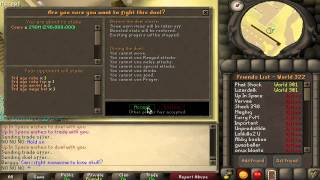 300m full 3rd age Mage Stake! biggest stake in 07!