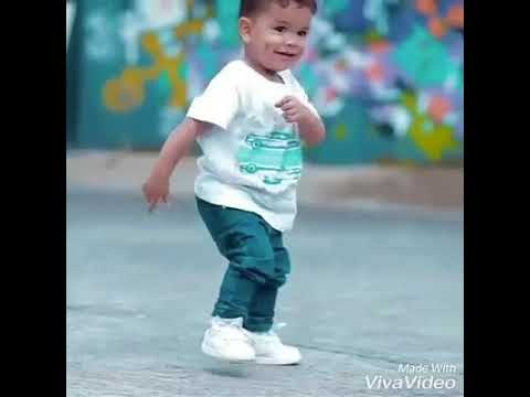 Little kid dancing Davido song (Hamissi Lucky)