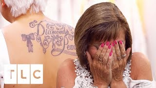 Stepmum Wants Bride's Back Tattoo Covered Up! | Say Yes To The Dress UK