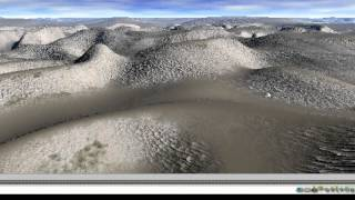 Bryce desert landscape - part 1 - a 15 minute tutorial in two parts by David Brinnen