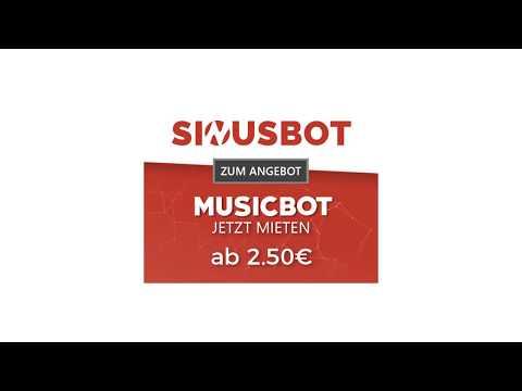 Sinusbot mieten und einrichten | Eigener MusicBot für Teamspeak und Discord