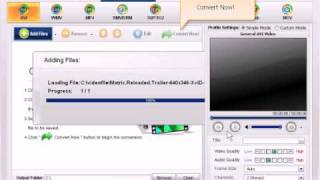 How to convert DVDs & Videos to AVI format by DicSoft
