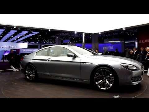 BMW 6 Series Coupe Concept [HD] - 2010 Paris Motor Show