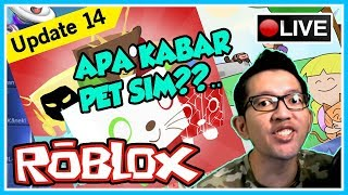 WHAT IS PET NEWS SIMULATOR?? #UPDATE14 🔴 COME MABAR SKWAD!! #CUPUSKWAD-ROBLOX INDONESIA