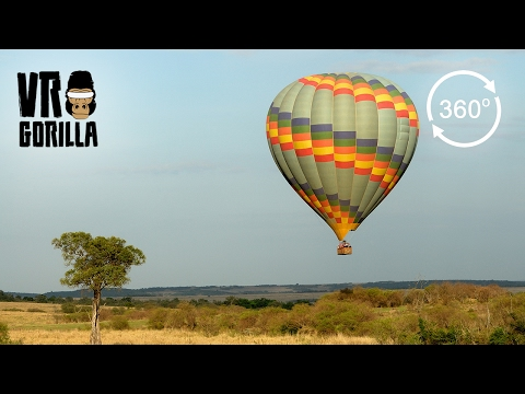 360° Up in the Air: a Balloon Safari Experience (Virtual Reality Video)