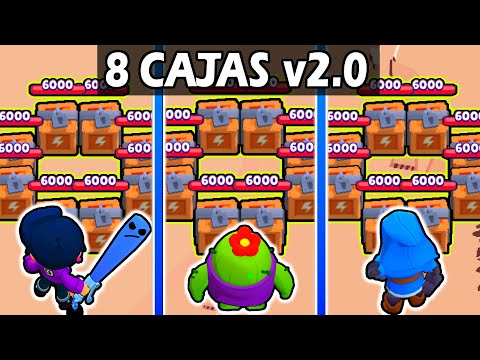 The BEST way to destroy 8 BOXES | With and without SUPER | Brawl stars