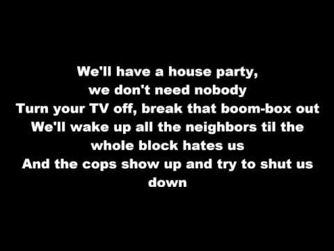 Sam Hunt - House Party with Lyrics
