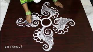 New and Latest Rangoli designs by Suneetha || Creative Kolam