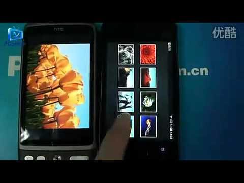 Meizu M9 vs HTC Desire.flv