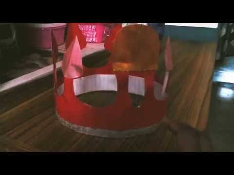 DIY Simple Red Crown|Paper Crown|DIY crafts| Suchi's Amazing Life