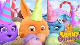 Cartoons für Kinder | Süßigkeiten | Lustige Cartoons für Kinder | Sunny Bunnies