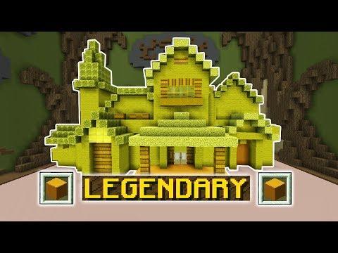ONLY YELLOW CHALLENGE!! (Minecraft Build Battle)