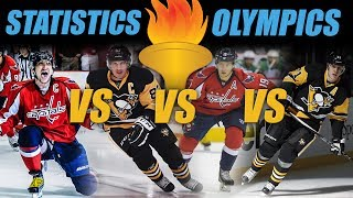 Statistics Olympics - Ovechkin vs Crosby vs Malkin vs Backstrom