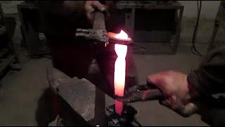 Ковка ножа из сверла своими руками