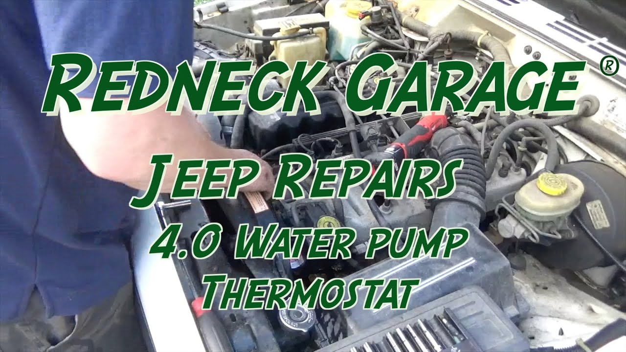 Water pump replacement jeep cherokee