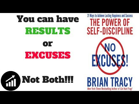 #65 - No Excuses!: The Power of Self-Discipline - book Review