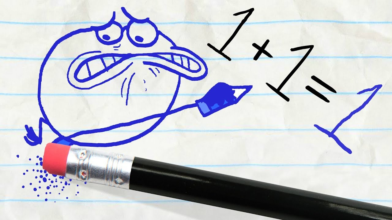 Download The Pencil teaches Pencilmate a lesson -in- THE GRAPES OF MATH