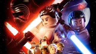 LEGO Star Wars: Force Awakens All Cutscenes (Game Movie) HD