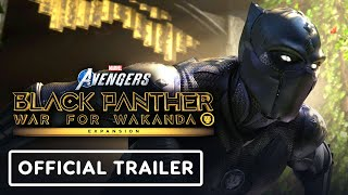 Marvel's Avengers - Official Black Panther Reveal Trailer | Square Enix Presents 2021