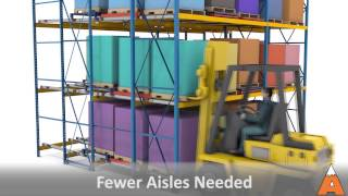 PushBack Pallet Rack Storage Systems   Apex Companies