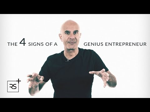 The 4 Signs of a Genius Entrepreneur | Robin Sharma