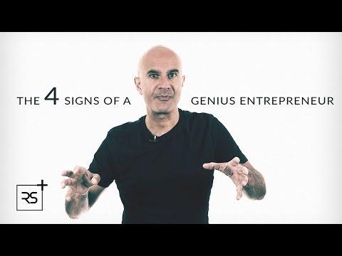 The 4 Signs of a Genius Entrepreneur | Robin Sharma