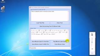 How To Use Text To Morse Code Converter Software