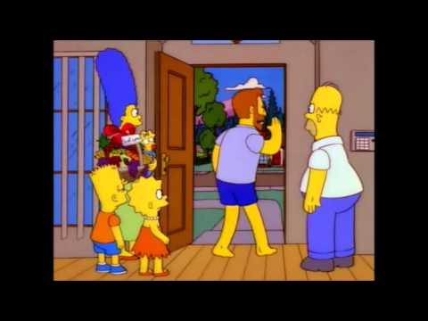 The Simpsons - Hank Scorpio Meeting the Family (Episode: You Only Move Twice)