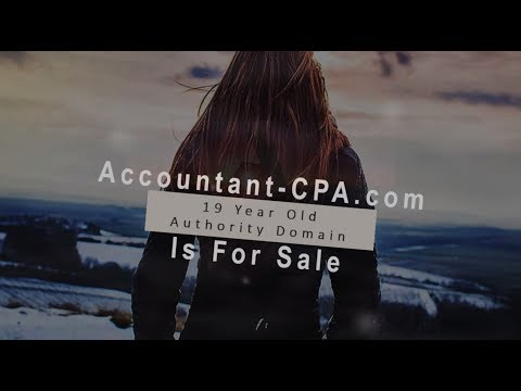 accountant domain for sale