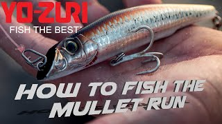 Fishing The Mullet Run: Yo-Zuri Mag Darter