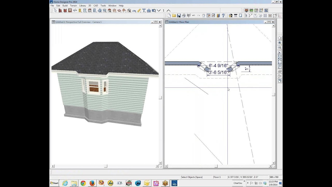 Bay Windows In Home Designer Pro Or Premier Youtube