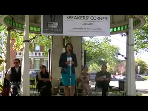 Speakers Corner Calgary - Be it resolved: the keystone and gateway pipelines should be abandoned.