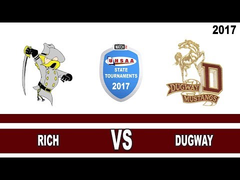 1A Girls Basketball: Rich vs Dugway High School Utah State Tournament Play-In Game