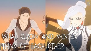 What Qrow and Winter Think of Each Other [FT. Actingbuggy](RWBY Thoughts)