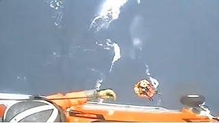 LiveLeak - Coast Guard Hoists Sailor In Distress In Heavy-weather Rescue
