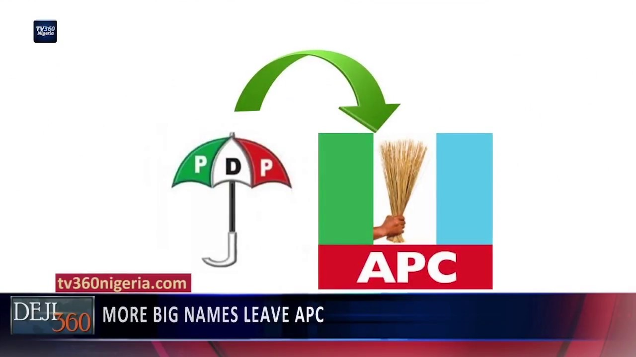 Deji 360 EP 216 Part 1: More big names leave APC