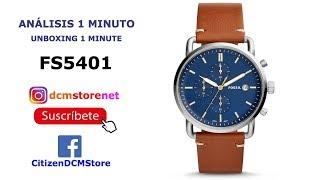 FS5401 Fossil Revisión 1 Minuto Unboxing 1 Minute