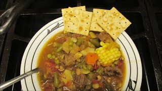 Best homemade beef and vegetable soup