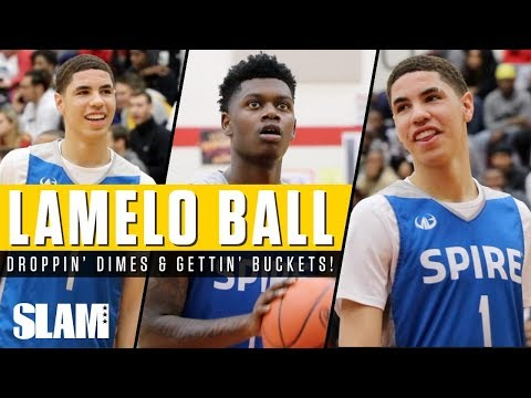 LaMelo Ball Drops CRAZY Dimes in front of SOLD OUT Crowd! 👀 | SLAM