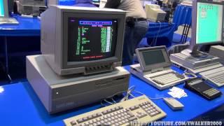 ИТ-музей: старые ПК Commodore, Amiga, Apple, Atari и прочие лептопы на выставке хобби