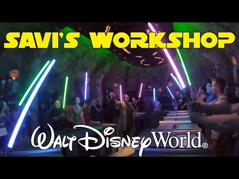 Star Wars: Galaxy's Edge de Orlando (SPOILERS) | Como montar seu Sabre de Luz!