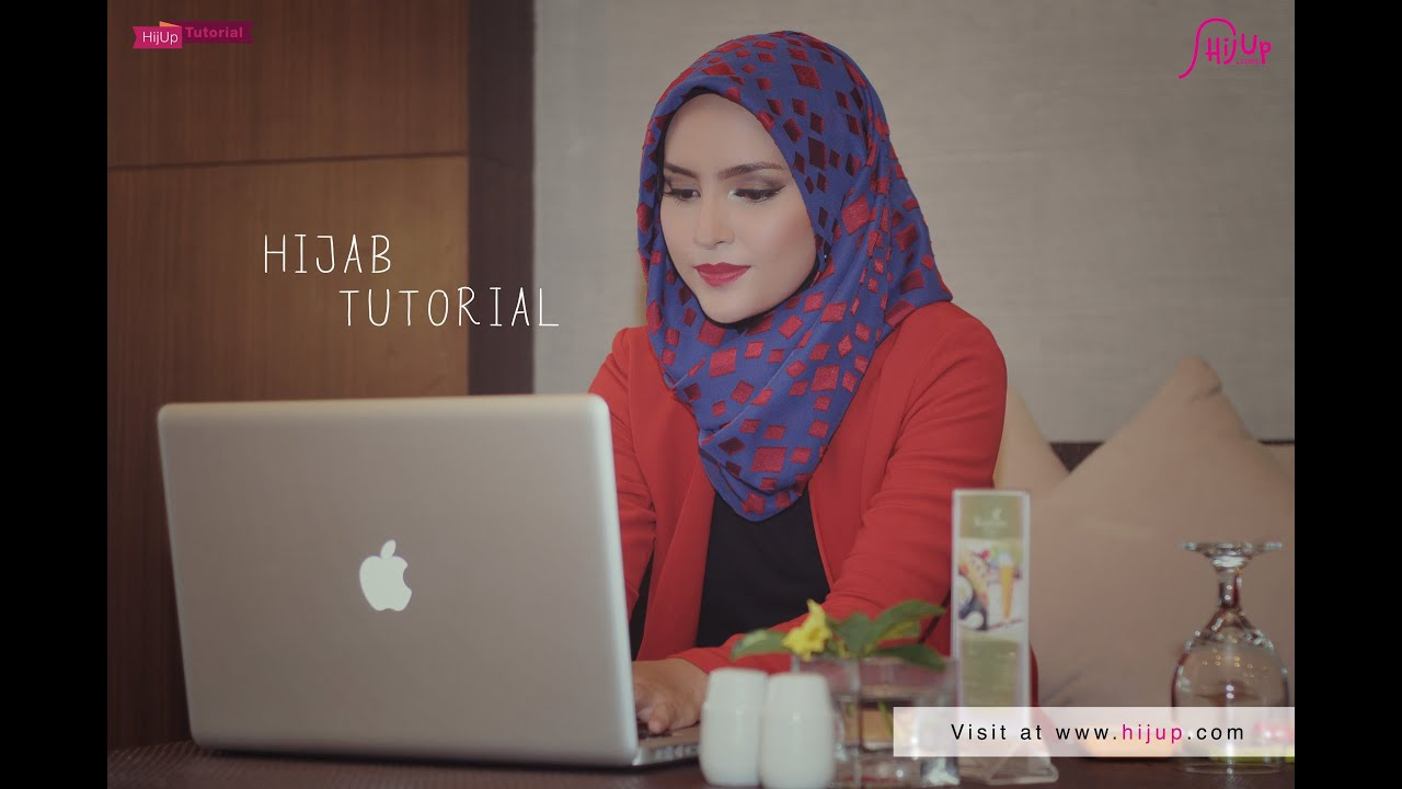 Hijab Tutorial Special Ramadhan Meeting Style With Zahratul