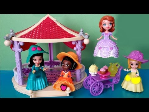 ♥ Disney Junior ♥ Sofia the First Royal Playdate Playset- Play doh Hat Disney Junior