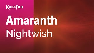 Karaoke Amaranth - Nightwish *