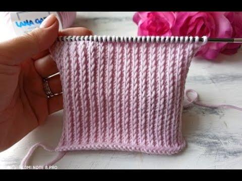 Простые схемы шапок вязания спицами