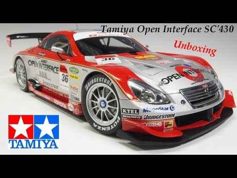 Tamiya Open interface SC'430 Unboxing FR