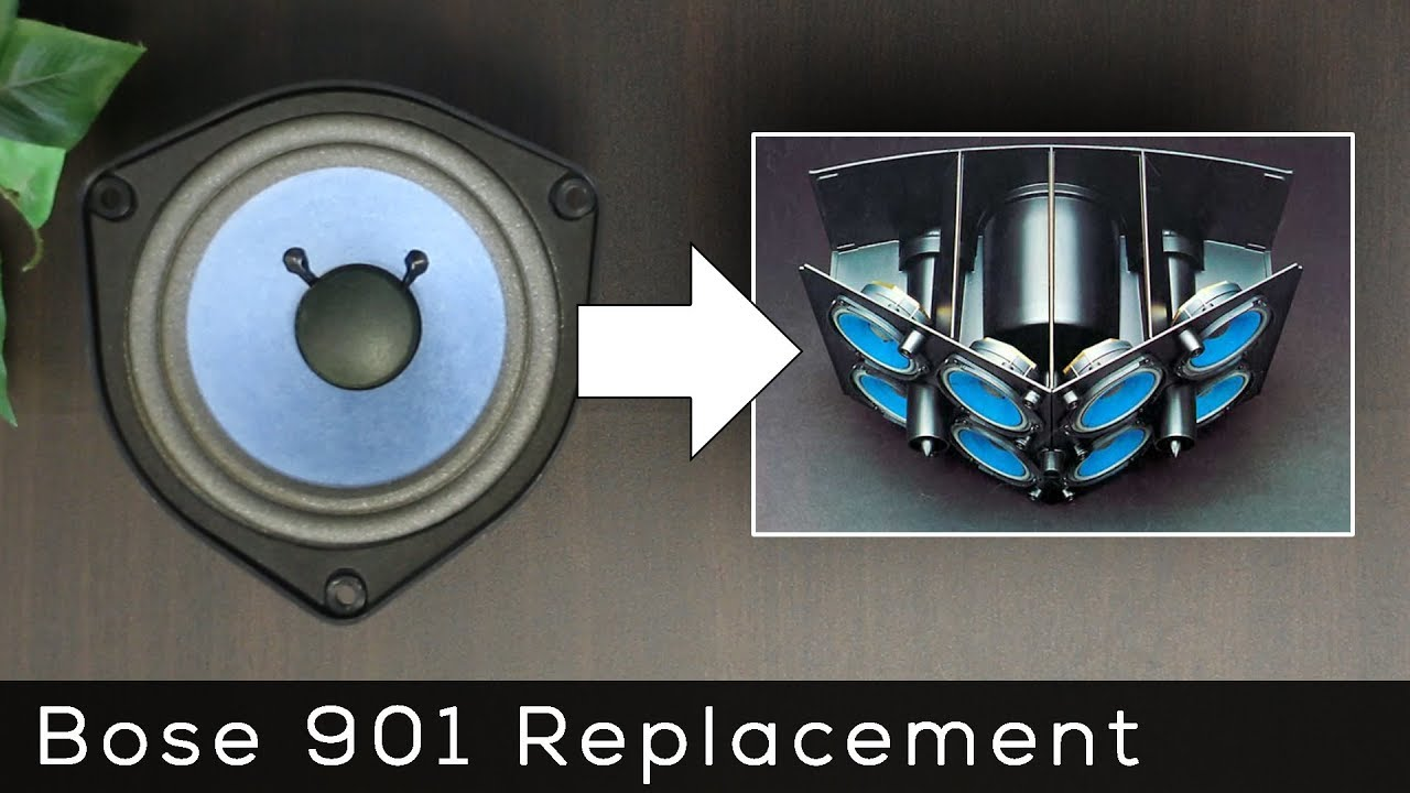 need a replacement speaker for your bose 901  [ 1280 x 720 Pixel ]