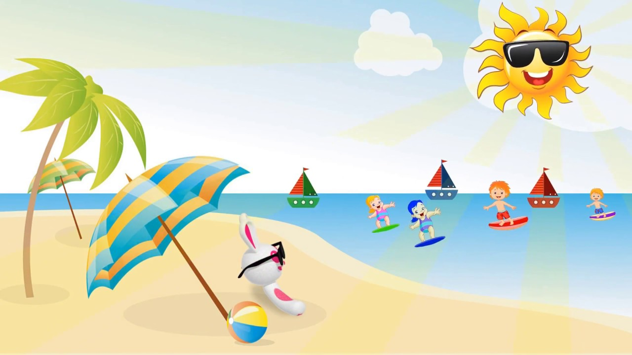 Seasons | Summer | Cartoon And Animated For Kids - YouTube