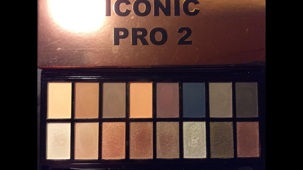 Makeup Revolution Iconic Pro 2 Review Swatches Dupe Alert You