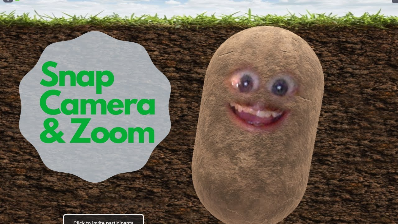 Make Yourself Into A Potato On Zoom With Snap Camera Youtube